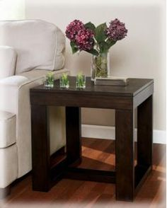 Signature Design By Ashley Watson Brown Square End Table   T481 2 Table  Furniture,
