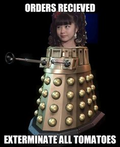 Exterminate with your mouth...Babymetal Doctor Who
