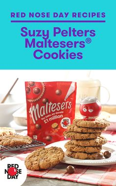 Maltesers Cookies. These look nice and simple.