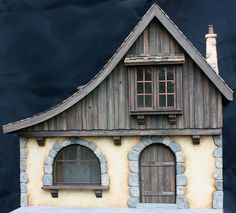 Chalet storefront - 1/12th scale model - Dollhouse