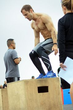 box jump #crossfit