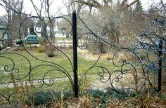 Iron Trellis for Garden
