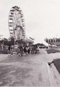 Panorámica de la antigua #Noria del Parque de Atracciones de #Madrid