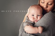 6 month old baby boy and mom    www.facebook.com/cyephotography  www.cyephotography.com