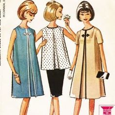 C. Dianne Zweig - Kitsch 'n Stuff: Fashionable Sixties Tent Dresses Are Back...But Shorter