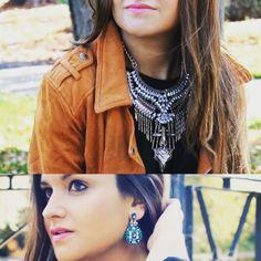 #accesorios #tendencias #estilo #complementos #cool #cute #NEPHRA #pendientesjoya #collarjoya #boho #etnico #moda