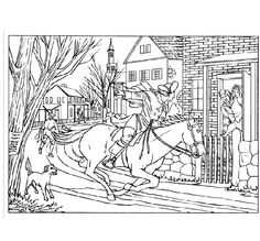 Paul Revere Craft Ideas for Children   Child, Craft and ...