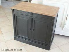 Meuble bas patiné ... Decor, Diy Furniture Restoration, Painted Furniture, Leksvik, Diy Furniture, Upcycled Furniture, Home Furniture, Desk Makeover, Diy Decor