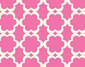 Tarika in Fuchsia, Taza Collection by Dena Fishbein for Westminster Fabrics / Free Spirit Fabrics, 1/2 Yard, Half Yard