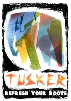 Skinnydip: Tusker Beer Poster