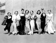 1939 The Women--Joan Fontaine, Mary Boland, Paulette Goddard, Norma Shearer, Joan Crawford, Ros Russell, Phyllis Dough, Muriel Hutchinson