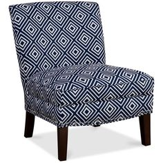 Jla Coryn Fabric Accent Chair (275 CAD) ❤ Liked On Polyvore Featuring Home,  · Navy Accent ChairUpholstered ...