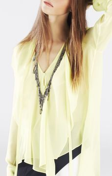 purr -- Looped Fringe Necklace  -- http://www.hagglekat.com/looped-fringe-necklace/