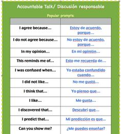 accountable talk #Spanish Get updates for teaching and learning languages:  http://eepurl.com/UewbL  http://reallifelanguage.com/reallifelanguageblog/