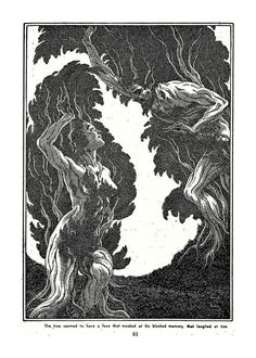 Virgil Finlay, The Spoilers of Lern by Clee Garson, Fantastic Adventures 51-08, P.61.