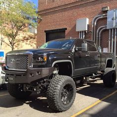 jacked up chevy trucks pictures Jacked Up Chevy, Jacked Up Trucks, Dodge Trucks, Jeep Truck, Chevrolet Trucks, Pickup Trucks, Lifted Dodge, Truck Memes, Denali Truck