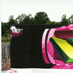 And finally the third part of the amazing 3D work by @lostoptics (Globalstreetart.com/lost-optics) #globalstreetart #3D #graffiti