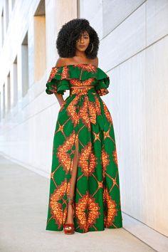 Page 2 – Daily outfits from Folake Kuye Huntoon African Fashion Ankara, Latest African Fashion Dresses, African Dresses For Women, African Print Fashion, African Attire, African Party Dresses, African Print Dresses, Moda Afro, Ankara Dress Styles
