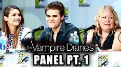 Ian Somerhalder - The Vampire Diaries Panel Part 1 - Comic-Con 2014
