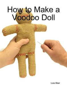 It is known only to a few people, but Voodoo dolls come in many forms. The only dolls that most of us are familiar of are those made out of cloth. Diy Voodoo Dolls, Voodoo Costume, Doll Costume, Diy Doll, Halloween Ornaments, Halloween Crafts, Halloween Sewing, Halloween Costumes, Voodoo Hoodoo