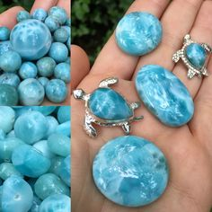 Beautiful Larimar now at The LH Bead Gallery!