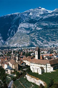 Chur, Switzerland - the capital of Graubunden, the highlight is the old town district, believed to be a 5000 year old settlement.  Known for spas and health centers, cobblestone streets, Roman ruins, and a few good museums.