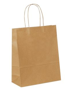 Introducing  Brown Carrier Bag Twisted Handle - Plain Brown ,medium size.Be the first to get it at our site