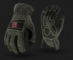 The Radians® is a synthetic leather, fire resistant work glove designed primarily for the oil & gas and steel foundry industries. Best Work Gloves, Industrial Safety, Oil And Gas, Father, Fire, Steel, Pai, Dads, Steel Grades