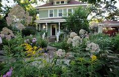Image result for cottage garden front yard shade