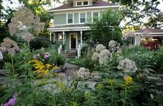 Image result for cottage garden front yard shade