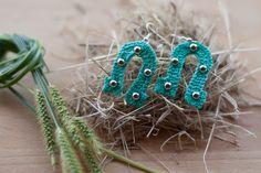 Modello Giada, nuova creazione. My crochet earrings