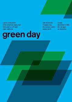 1   Zurich Calling: Your Favorite Punk Rock Gig Posters Meet Swiss Modernism   Co.Create: Creativity \ Culture \ Commerce