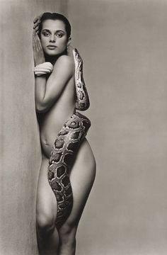 Nastassja Kinski and the Serpent - June 1981 - Los Angeles, California - Photo by Richard Avedon
