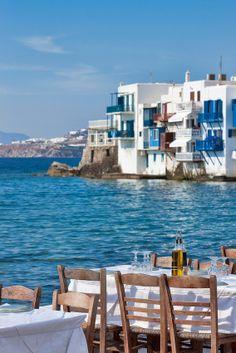 Little Venice, Mykonos, Greece.. See you in September 2013!
