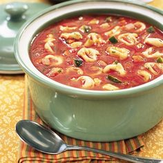 Tortellini Vegetable Soup Recipe | Spoonful