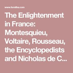 compare and contrast the enlightenment ideas of montesquieu and voltaire In this enlightenment lesson, students respond to 34 short answer questions about john locke, thomas hobbes, baron de montesquieu, jean jacques rousseau, voltaire, denis diderot, and mary wollstonecraft.