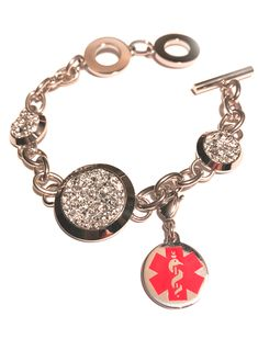 Its All About...You Mermaid Stainless Steel Clasp Clip on Charm 74F