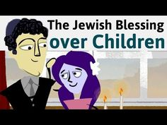 It's a sweet and special custom in Jewish communities to bless your children on Friday nights before Shabbat dinner.