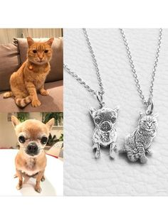 Personalized Cat Necklace (925 STERLING SILVER)
