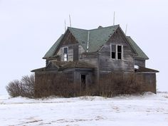 "Remember riding bike through the country & ""touring"" old abandoned houses with my sister in home sweet home....North Dakota"