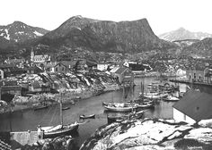 Kabelvåg, Nordland <span> in </span><span>1905 and (click to fade) 2004. </span>Kabelvåg is presumably Lofoten's oldest, and has also been its largest fishing community. In 1905 Kabelvåg was an urban environment, the capital of Lofoten, and an important trade center. The Vågan church, the Lofoten Cathedral, was one of Norway's largest wooden churches. With the motorization of coastal boats, the harbor was no longer serviceable, and Svolvær took over ...
