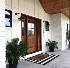 Decoracion Exterior Pallet - Exterior Colors Red - Black Stucco Exterior - Unique Home Exterior - Rancher Exterior Makeover
