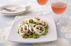 イカと枝豆のハニーマスタードマリネ | お酒にピッタリ!おすすめレシピ | サッポロビール