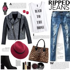 A fashion look from October 2015 featuring H&M tops, Neil Barrett jackets and Alexander Wang ankle booties. Browse and shop related looks.