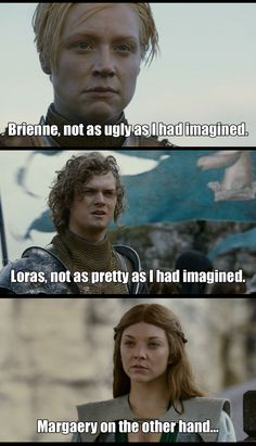 Yes, on the other hand Margaery would have been perfect for the role - about 15 years ago! She is 16 in the books people. The actress is what 31, 32??