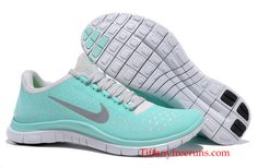 Nike Free 3.0 V4 Womens Tiffany Blue Tropical Twis Silver Pro Platinum