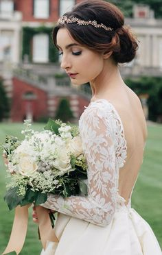 Wedding dress idea; Featured: Sareh Nouri