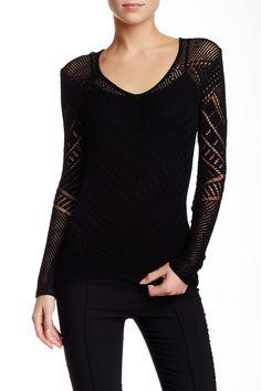 Kuttie Loose Knit Sweater by BCBGMAXAZRIA on @HauteLook