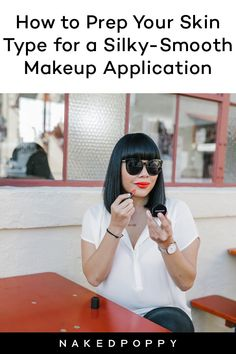 For makeup to sit well on our skin, prepping our skin first makes a world of difference. Here are the best prep any skin type before putting on makeup. Natural Hair Mask, Natural Hair Styles, Skin Gel, Long Lasting Makeup, Putting On Makeup, Clean Makeup, Unwanted Hair, Normal Skin, Makeup Application