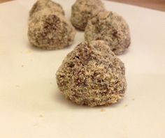 Salted nut and banana ice cream balls | Community Post: 27 Sinfully Delicious Raw Vegan Chocolate Desserts